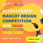ขอเชิญร่วมสนุกแข่งขันออกแบบ MASCOT ACCESSTRADE ชิงเงิน 3,000 USD!
