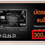 ประกาศแคมเปญ Thanachart Bank Credit Card