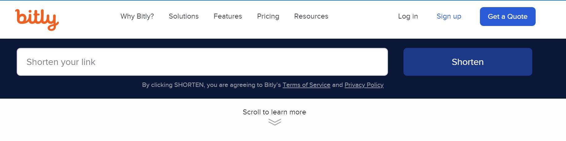 การใช้ bitly.com ย่อลิงก์