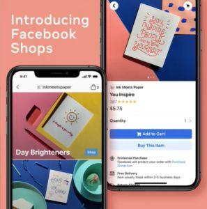 Facebook ประกาศเปิดตัวบริการใหม่ล่าสุด Facebook Shops