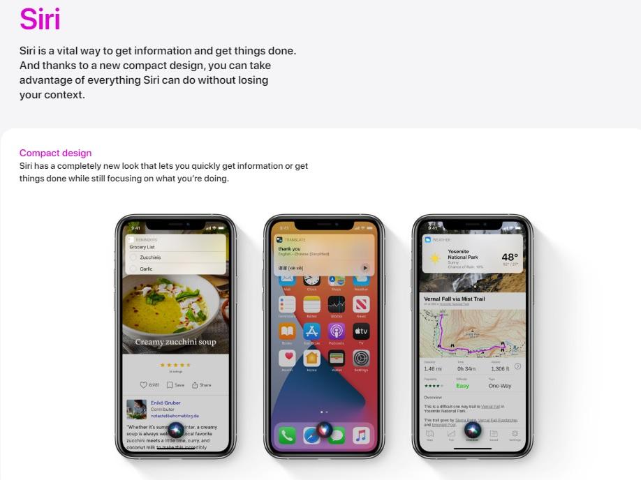 iOS 14 Siri อ่านข้อความได้แล้ว