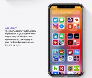 App Library ฟีเจอร์ใหม่ iOS 14