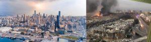 ระเบิดที่กรุงเบรุต ประเทศเลบานอน