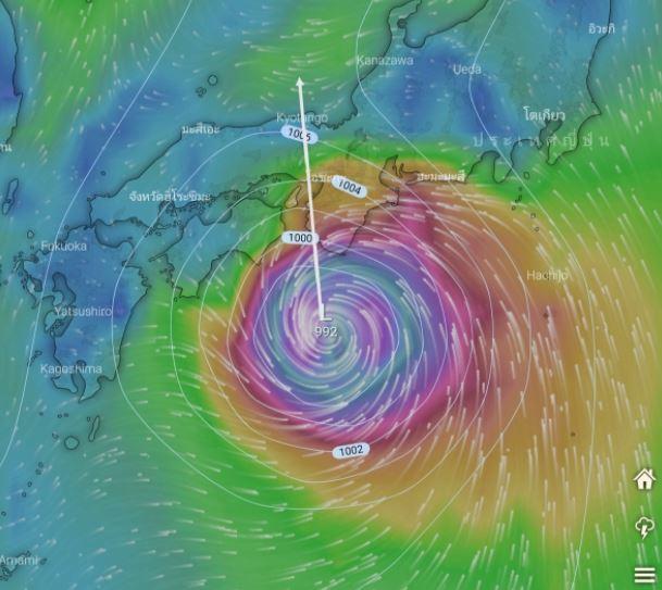 """""""บาหวี่"""" พายุลูกใหม่ เตรียมจับทิศทาง 23-24 สิงหานี้"""