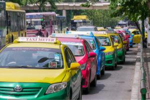 ประกาศแท็กซี่คิดค่าบริการเพิ่มเติม