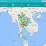 รายงาน PM2.5 ค่ามาตรฐาน ทั่วประเทศไทย