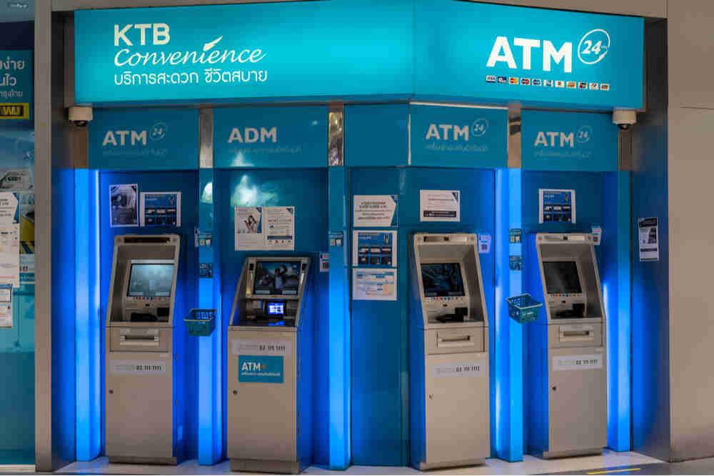 เปิดขึ้นตอนการยืนยันตัวตนผ่านตู้ ATM สีเทา และ ธนาคารกรุงไทย