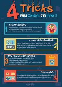 เรียนรู้เทคนิคในการเขียน Content จาก Inner